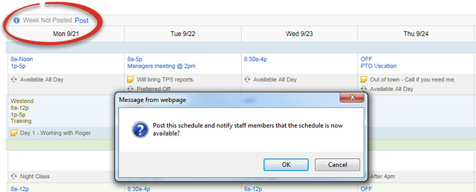 employee scheduling software free trial